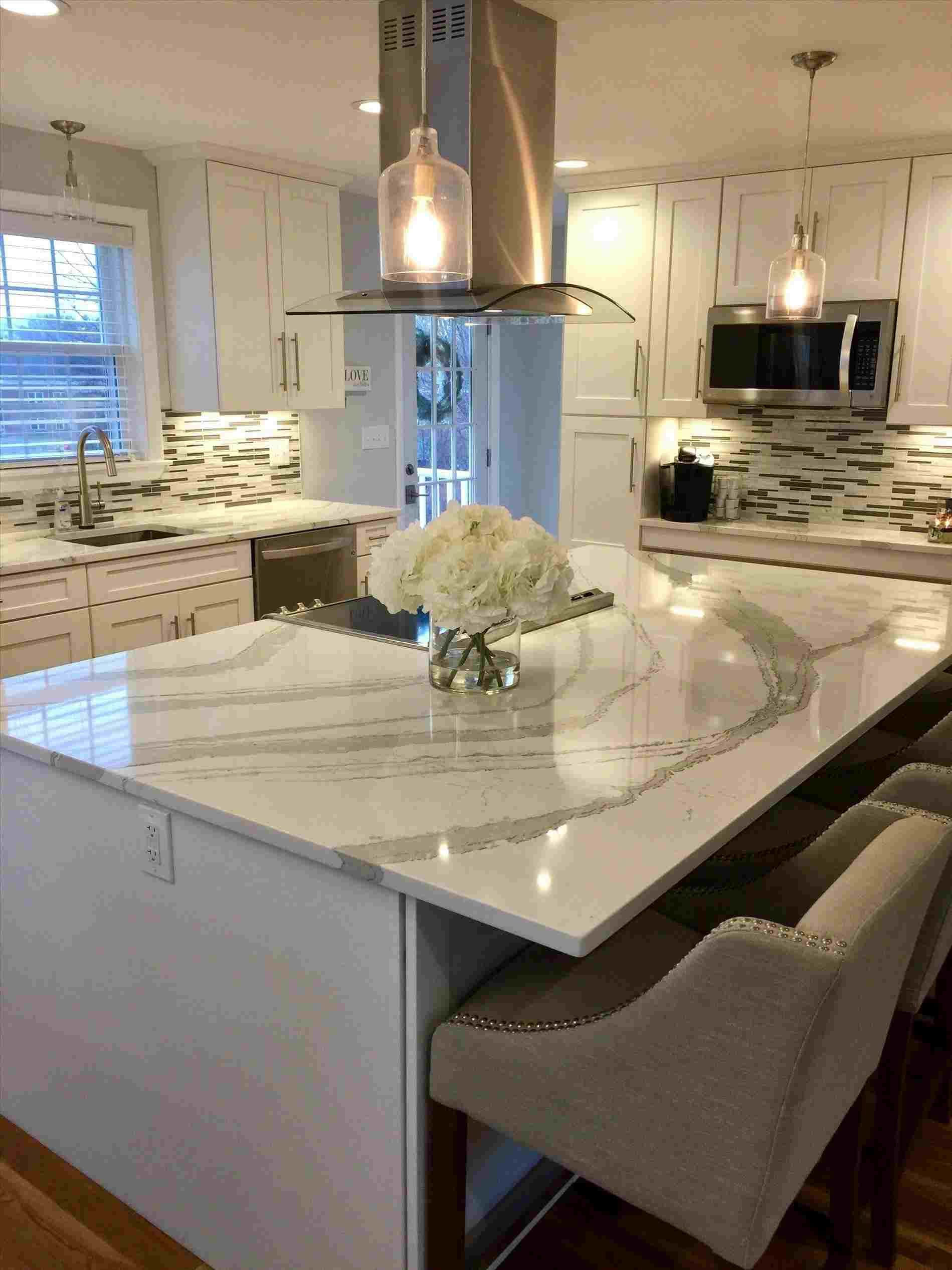 Off White Kitchen Cabinets With Butcher Block Countertops : off white kitchen cabinets with butcher block countertops Kitchen di 2019 Rumah, Dapur, dan ...