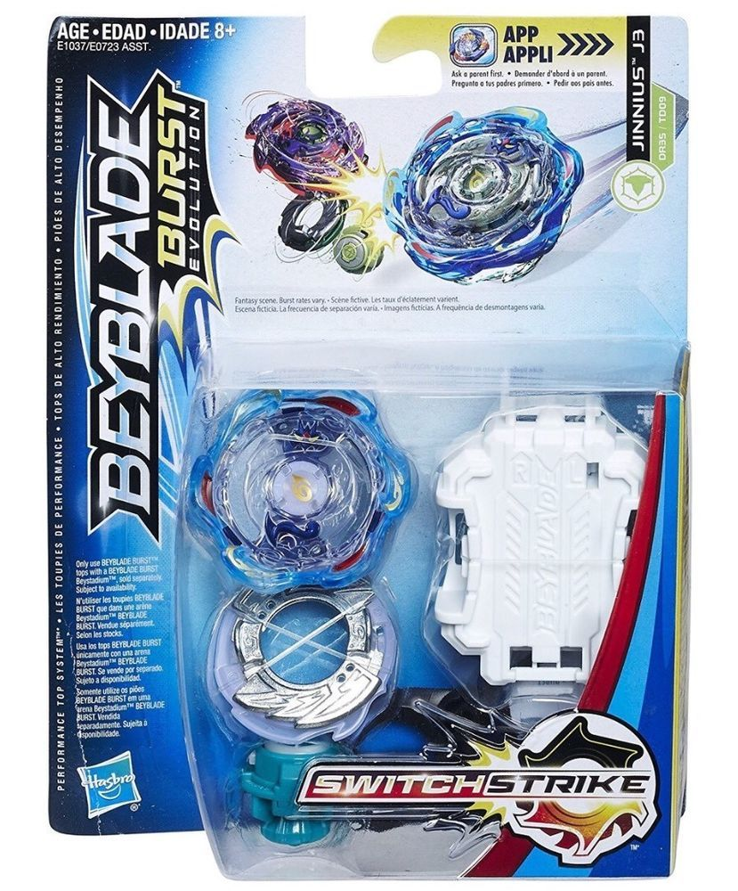 Beyblade Burst Evolution Blast Jinnius J3 Hasbro Usa Seller Switch