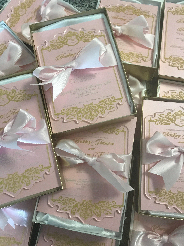inkelegance Acrylic invitations, Acrylic wedding