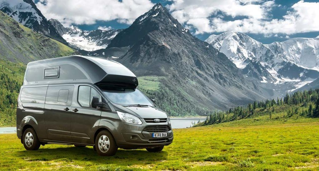 The Nugget Plus Camper Van Has All The Amenities You Need For Life On The Road Including A Toilet Ford Transit Transitional Design Style Transitional House