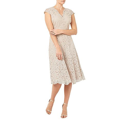 Buy Yellow Jacques Vert Lace Godet Dress, 16 from our Women's Dresses range  at John Lewis.