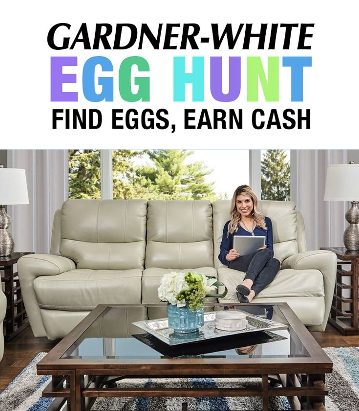 Get $1 Off Your Qualifying Gardner-White Purchase For Each