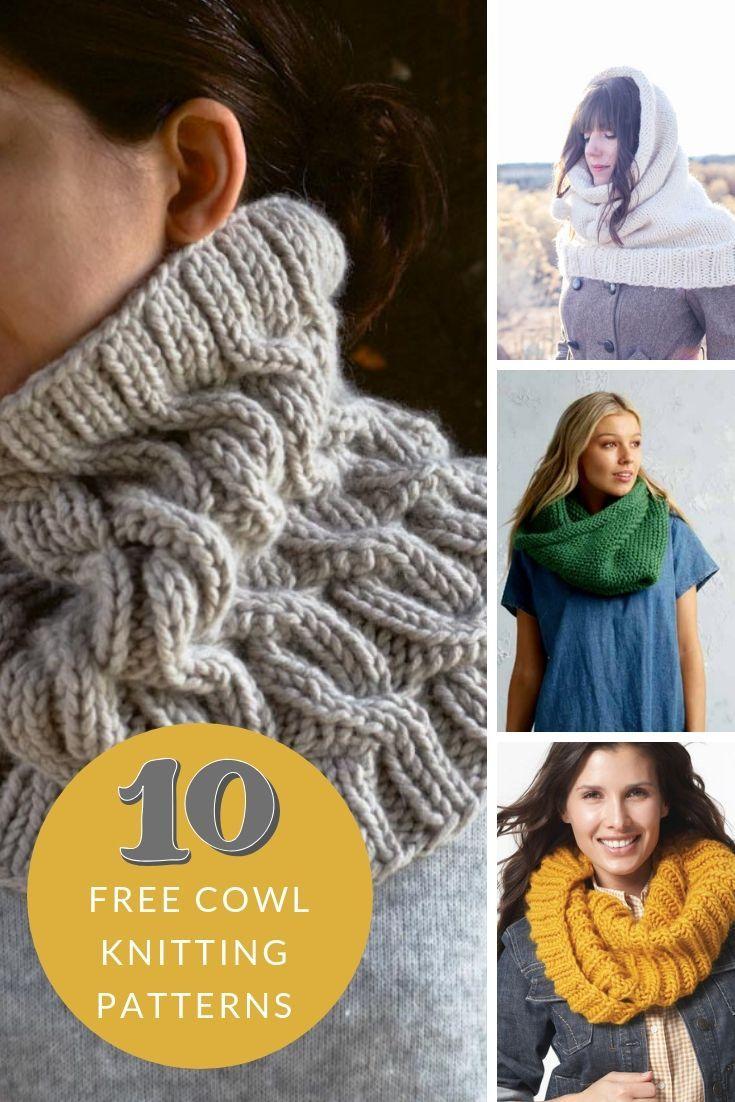 Free Cowl Patterns   Snood knitting pattern, Fall knitting ...