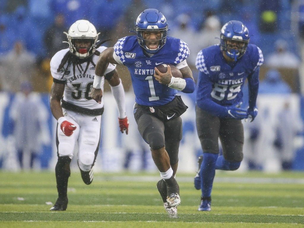 Matt Stone (CJ) Like a hurricane Kentucky's Lynn Bowden
