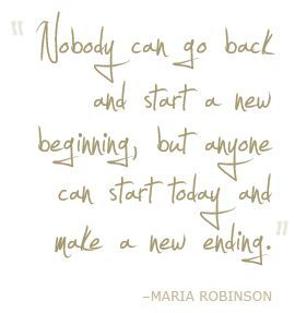 Drug Addiction Quotes Extraordinary Nobody Can Go Back And Start A New Beginning But Anyone Can Start . Inspiration