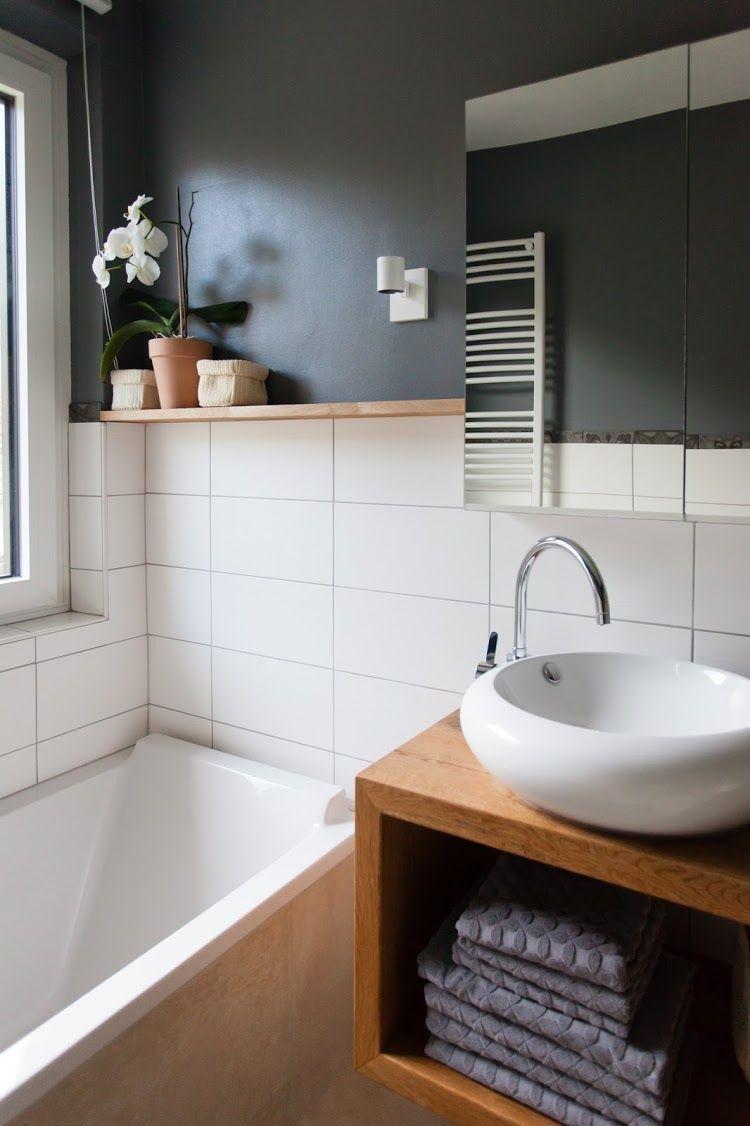 Vorher Nachher Ein Neues Badezimmer Um 4000 Euro Wohn Projekt Neues Badezimmer Wc Renovieren Badezimmer Renovieren