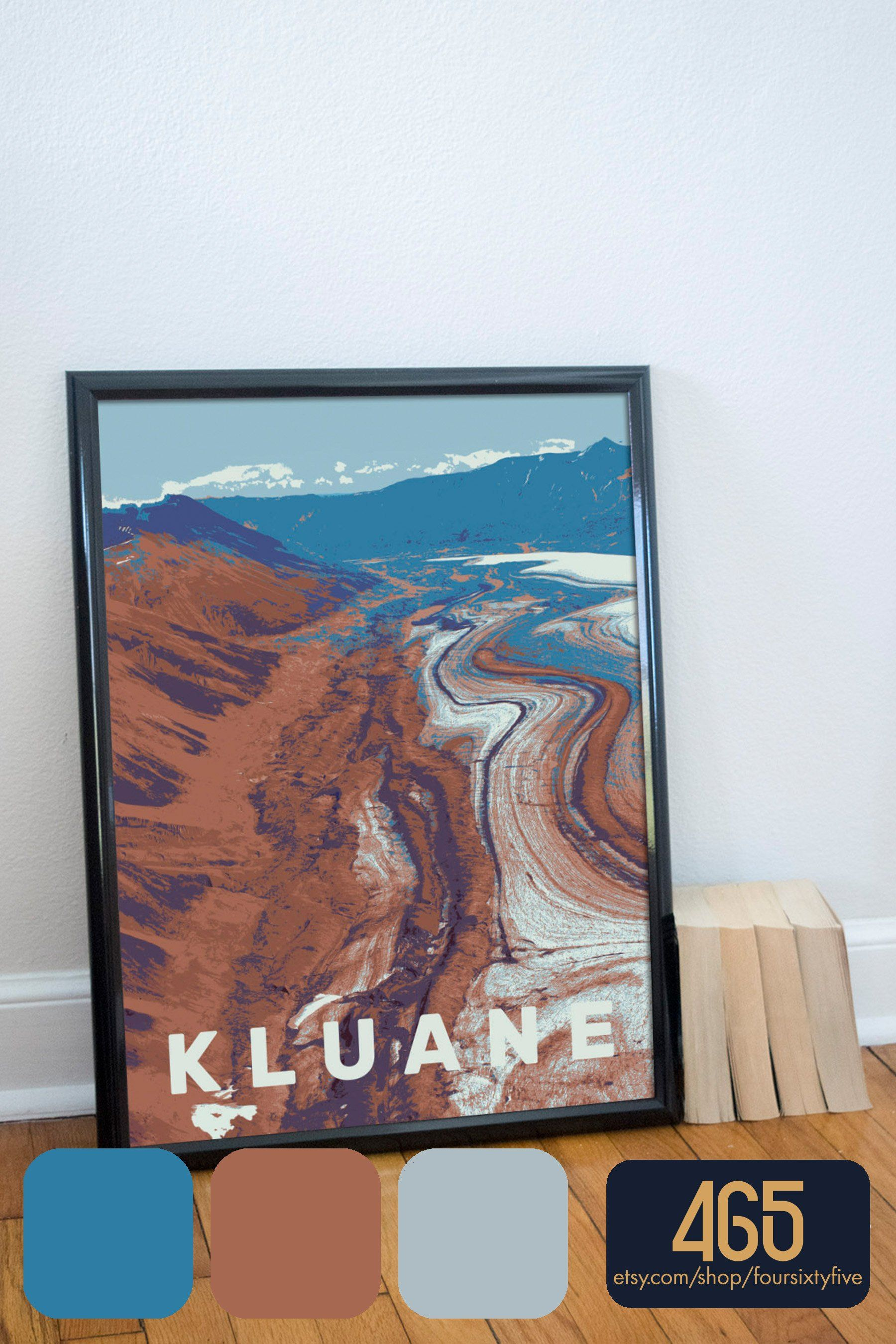Kluane National Park Canada Poster Etsy In 2020 Canada National Parks Kluane National Park National Parks