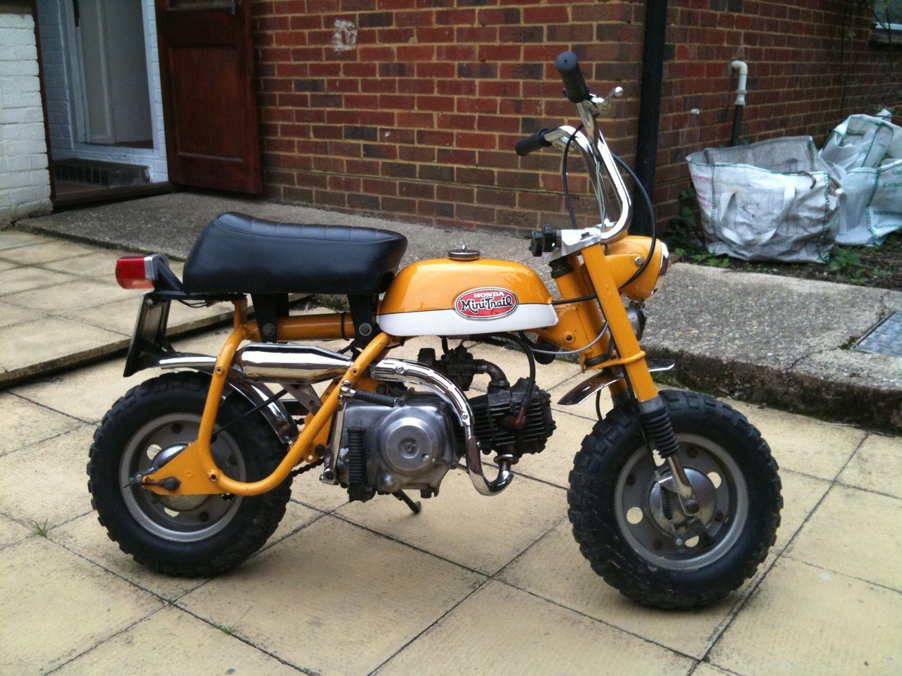 Honda Z50a Honda Monkey Z50 Mini Trail Honda Classic Bikes Mini Bike