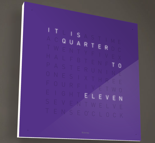 Biegert & Funk QLOCKTWO gets an English version, our sincerest ...