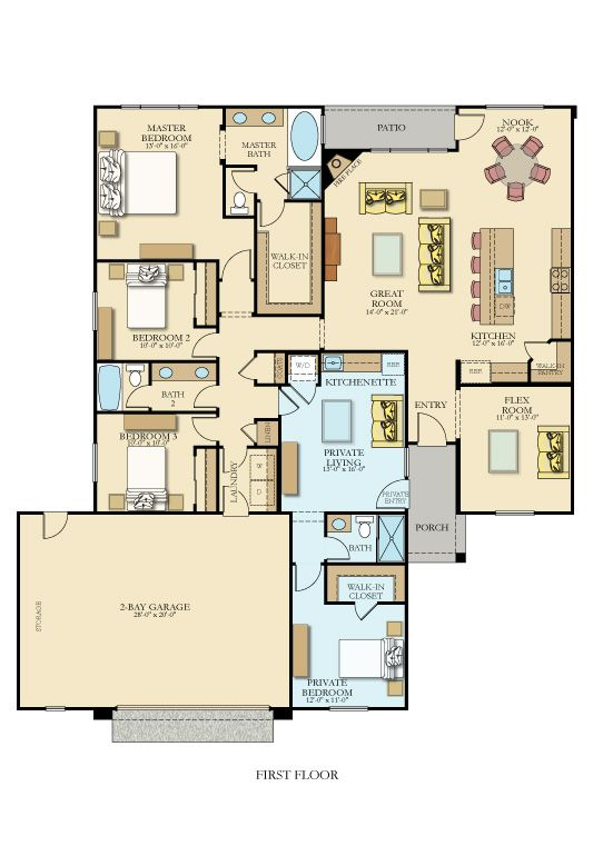 2nd Generation Floor Plan Multigenerational House Plans New House Plans House Plans