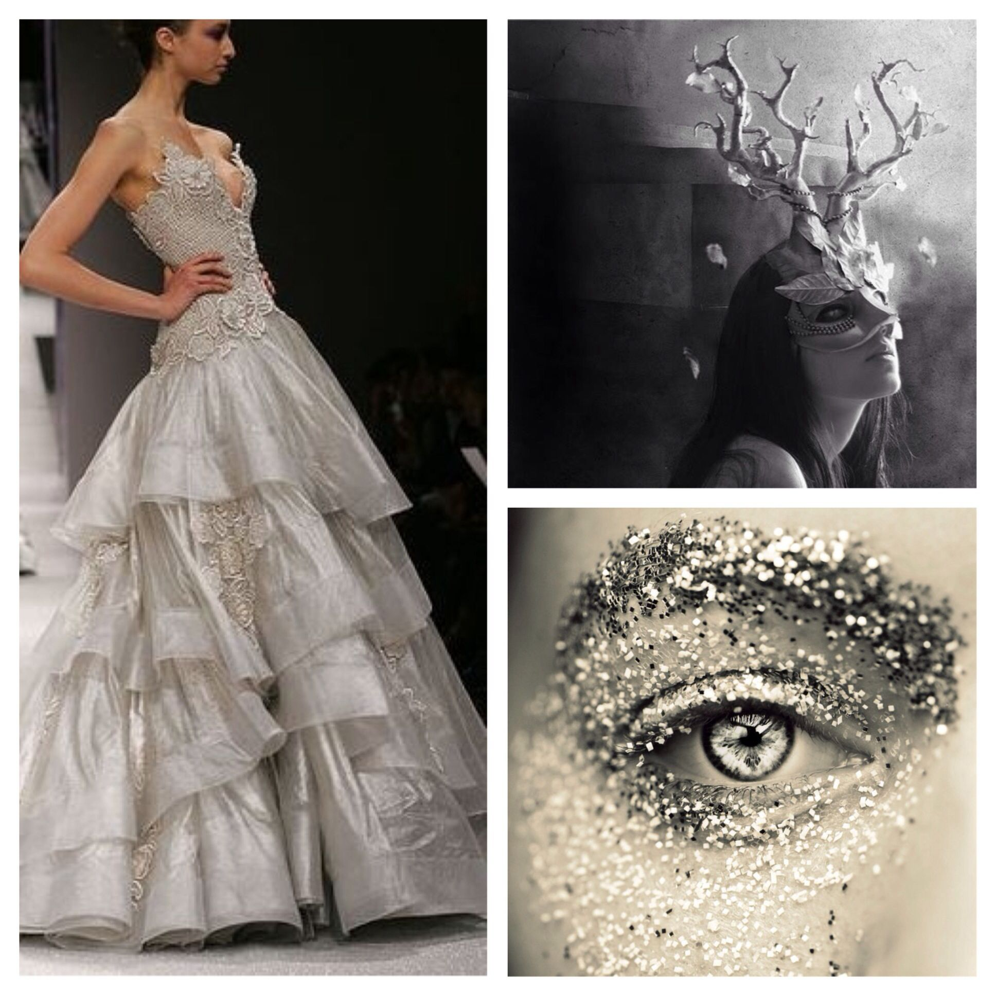 Whimsical silver masquerade ball outfit letus go to a masked ball