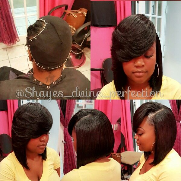 hair styles for black hair pronto weave prontoquickweave protectivestyles 2432