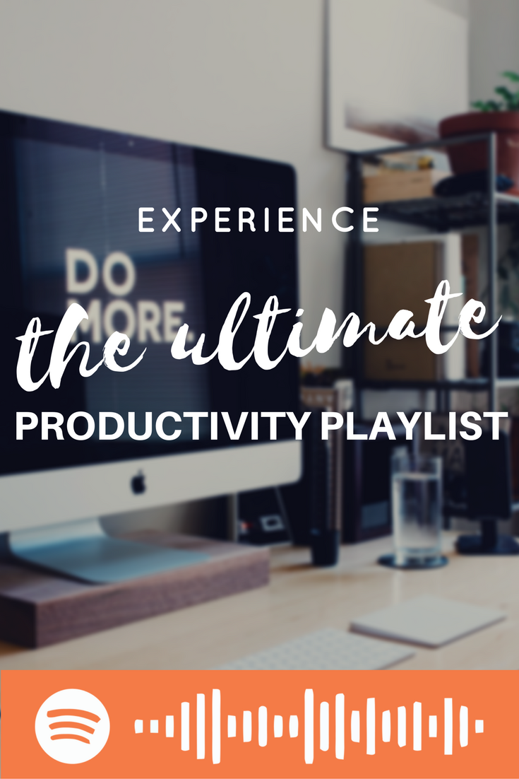 A playlist that will spark your Productivity in to life