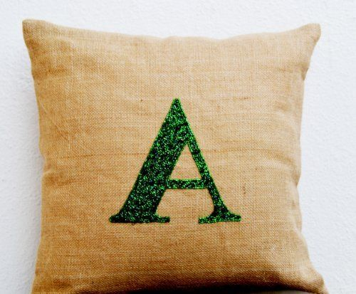 Initial Pillow Covers Initial Pillow Covers  Monogrammed Throw Pillow Covers  Sequin