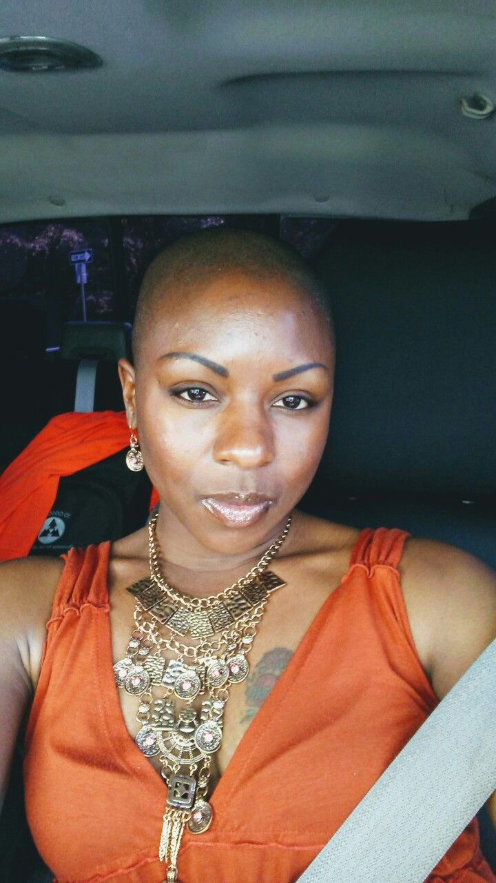 Shaved African American beauty in 2019 Bald hair, Bald