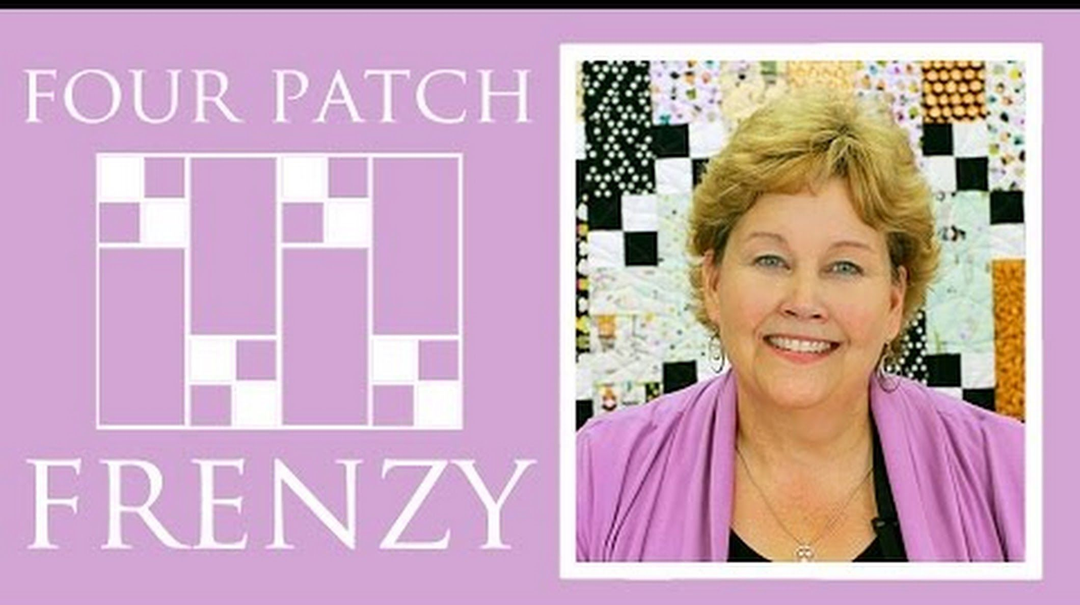 Missouri star quilt company google patchwork pinterest the four patch frenzy quilt easy quilting tutorial with jenny doan of missouri star quilt co baditri Images