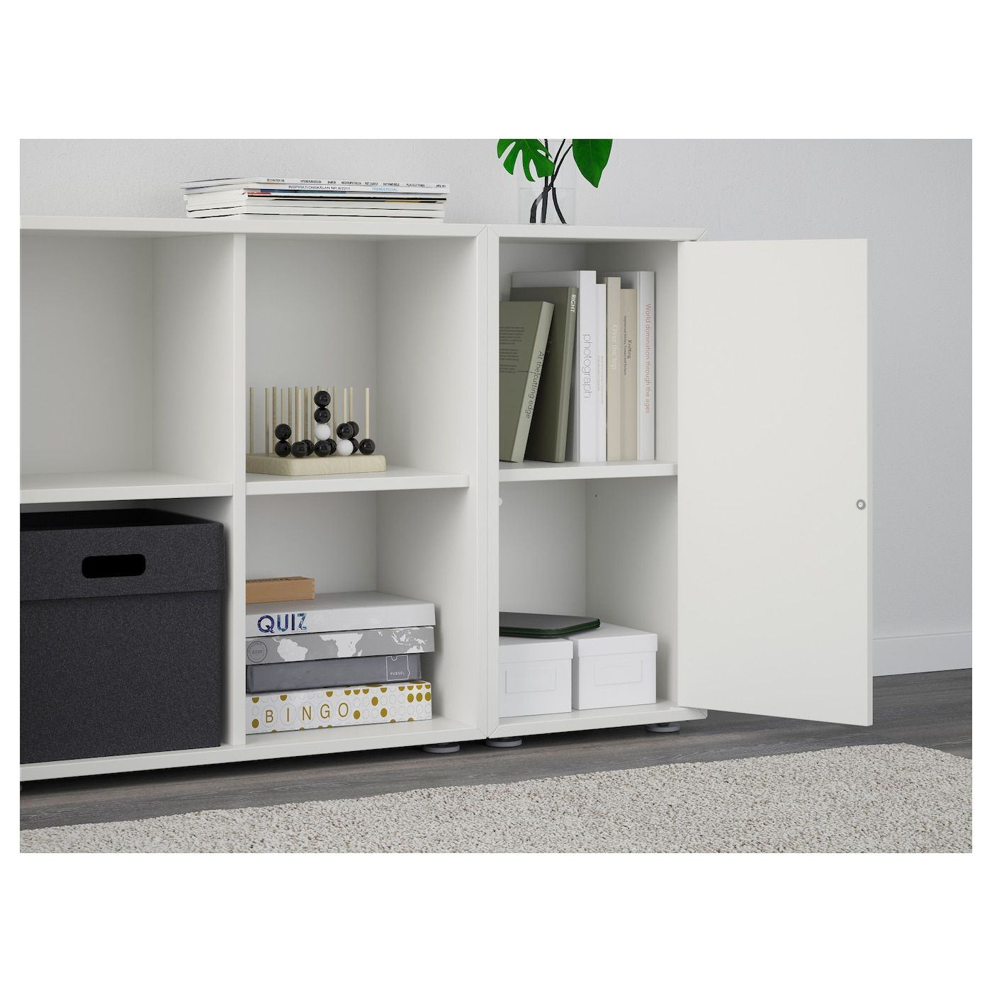 EKET Storage combination with feet, white. Shop IKEA.ca - IKEA