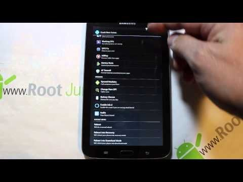 Galaxy Tab 3 Crash rom install & Review Galaxy tab