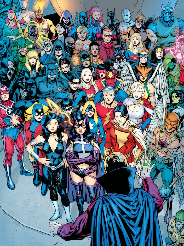 Dc Heroes Justice Society, Justice League, Teen Titans -1859