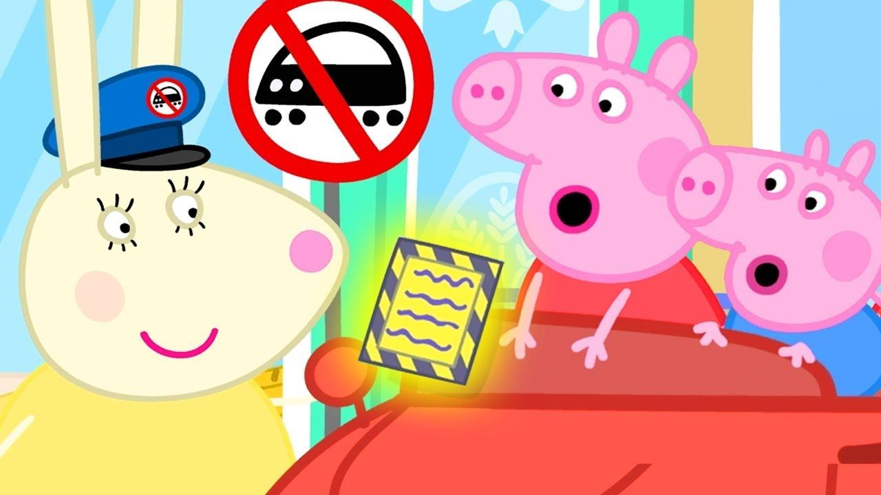 Peppa Pig Official Channel New Season Parking Ticket For Daddy Pig Peppa Pig Peppa Pig Daddy Pig Peppa