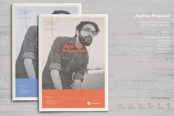Agency Proposal By Typoedition On Creativemarket Creative Design