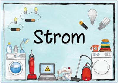 Sachunterricht In Der Grundschule Themenplakat Strom