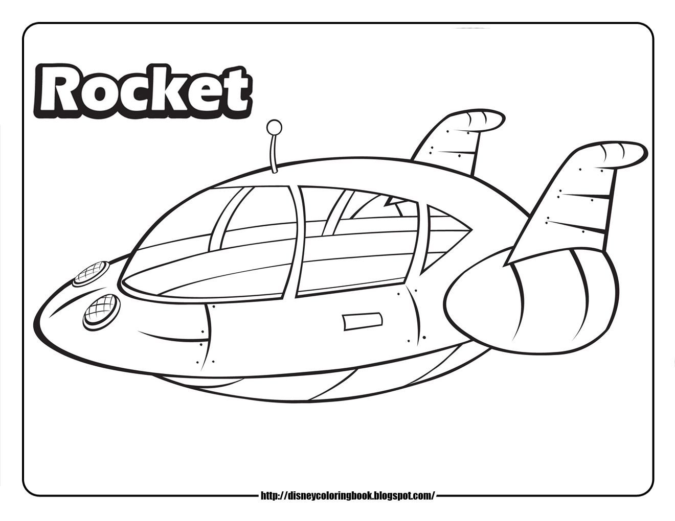 Here Are Some Printable Coloring Sheets Of Your Favorite Rocketship From Disney Junior S Little Einsteins Rocket