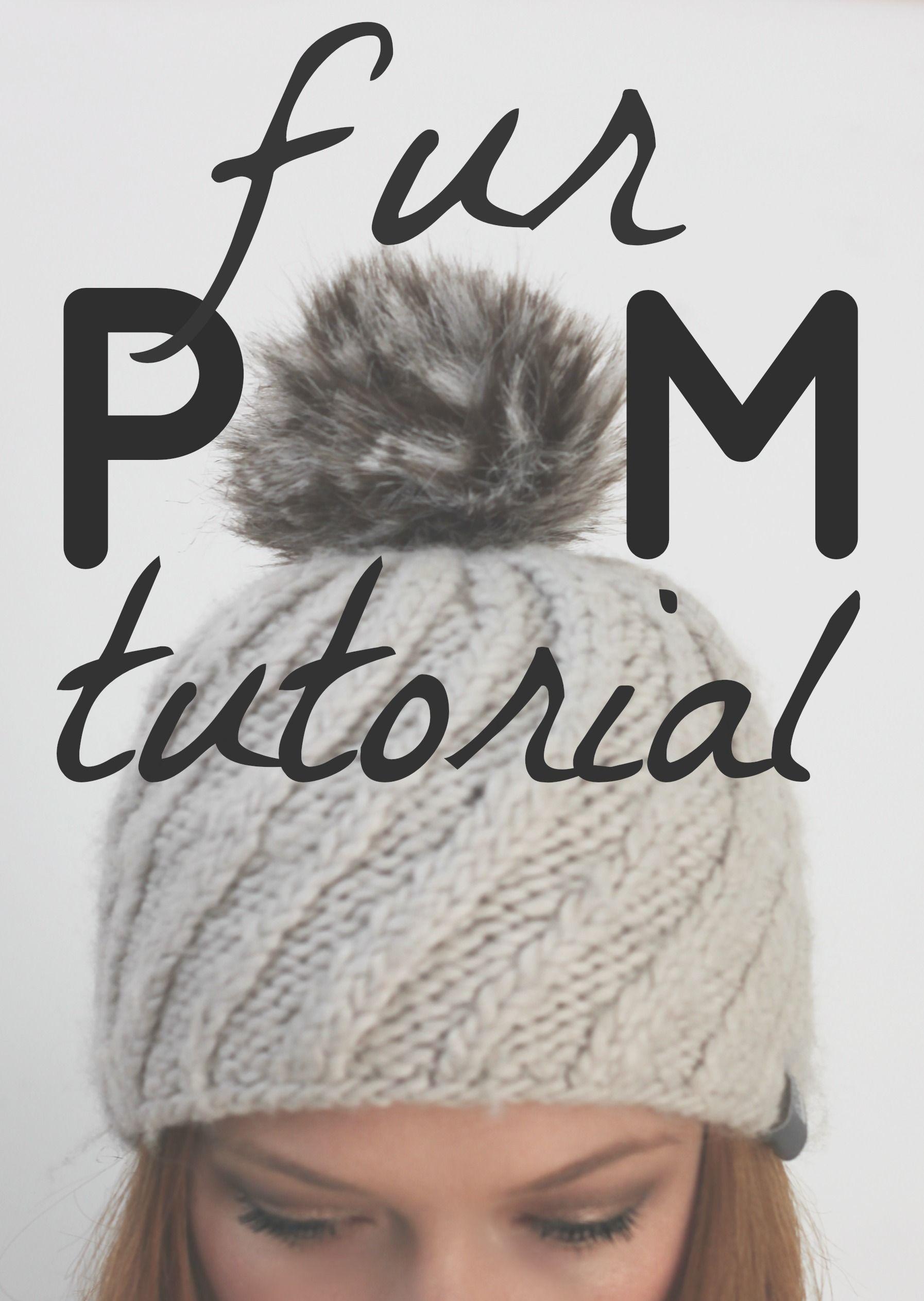 588534a0a79 Fur Pom Pom Tutorial
