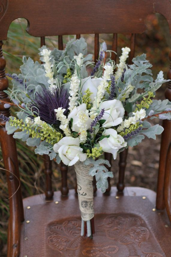 CLEARANCE ~ Price Reduced ~ Country French Lavender & Cream Wedding ...