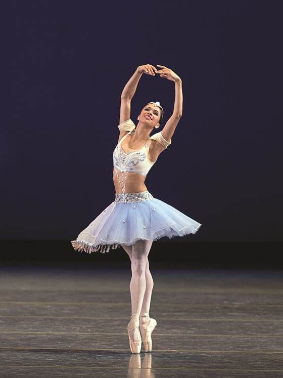Misty Copeland onstage as an odalisque in Le Corsaire Photo Credit Rosalie O'Connor