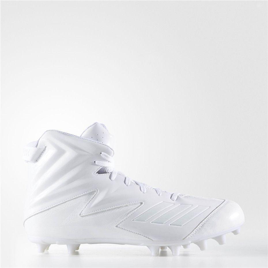 Adidas freak high wide cleats running white ftw running