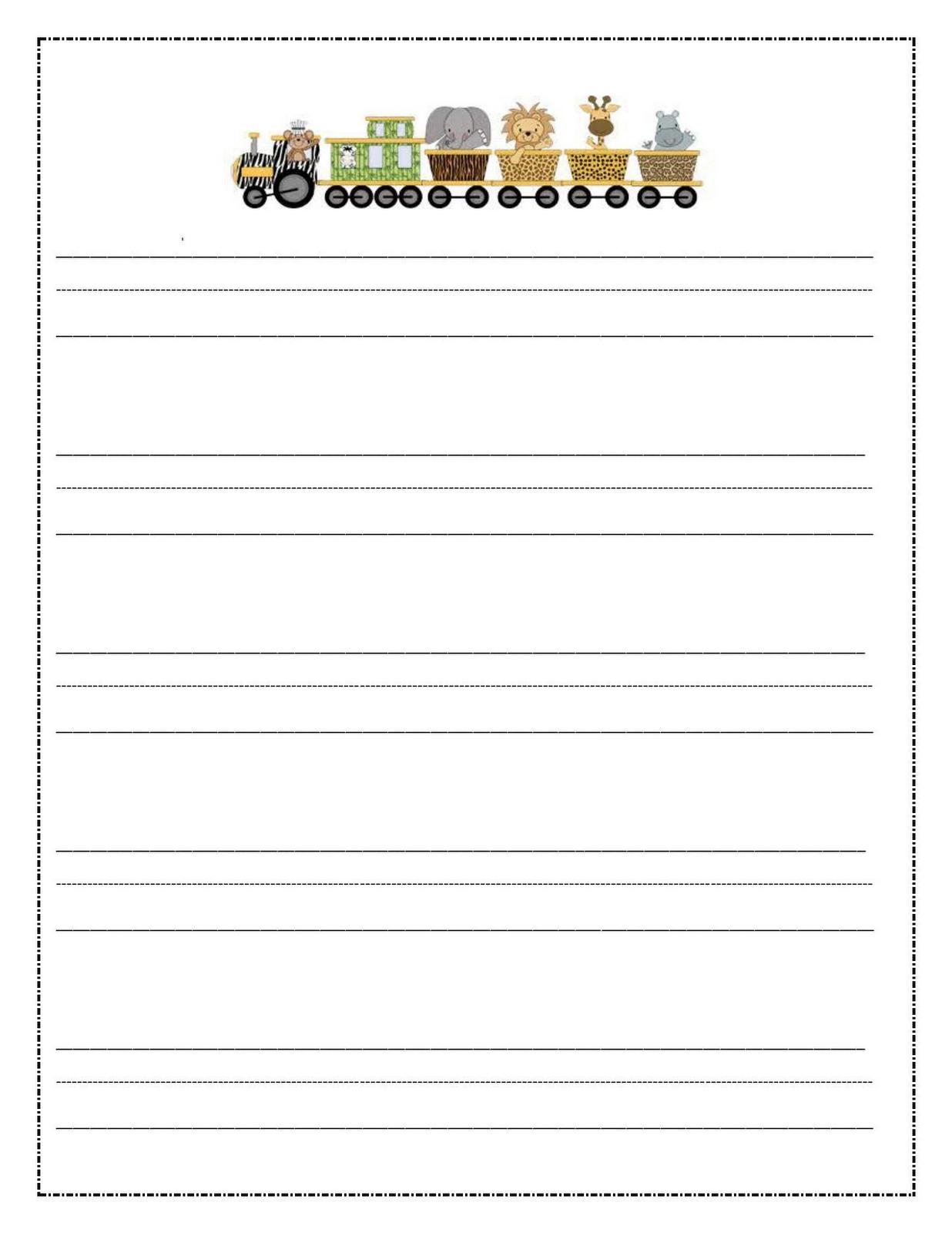 Writing paper kids