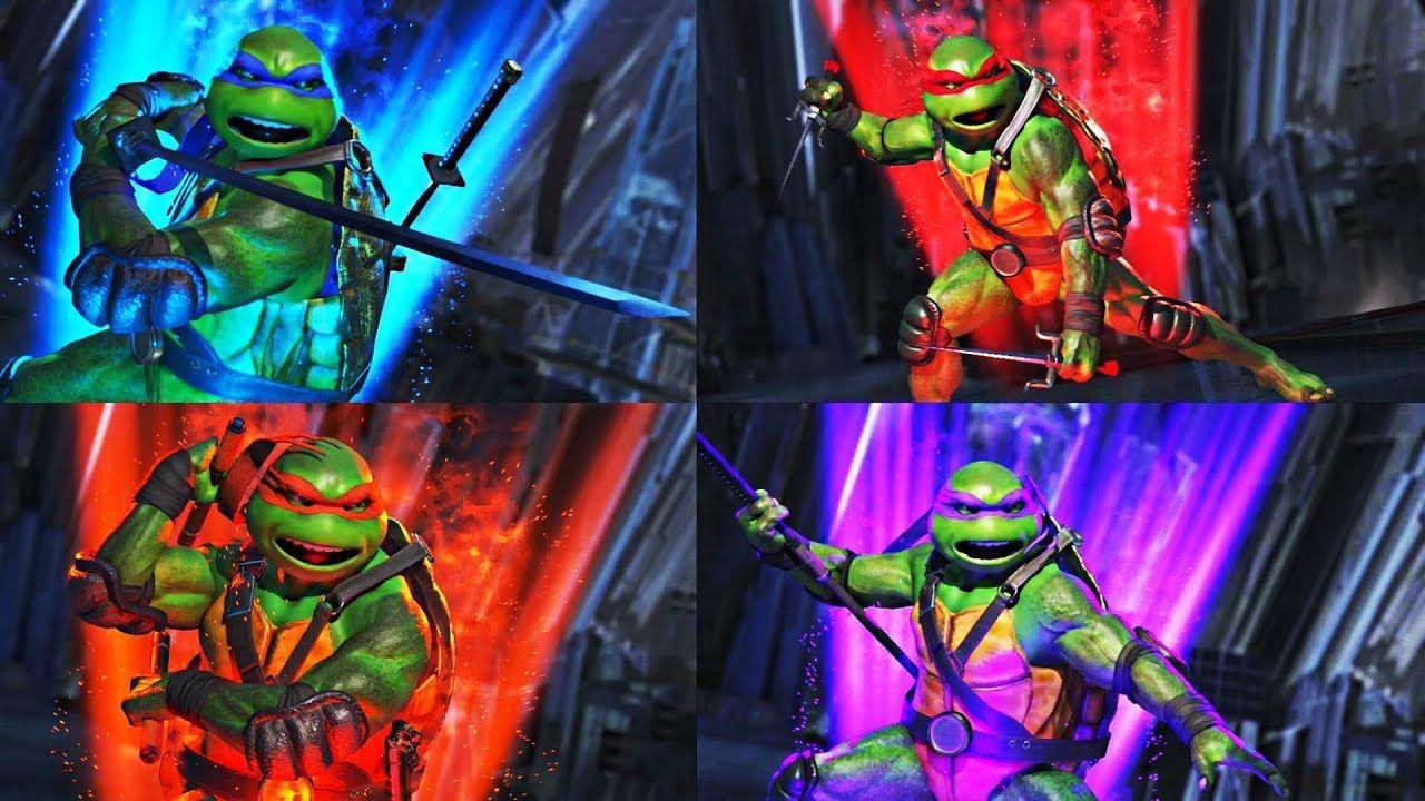 Injustice 2 Ninja Turtles All Supermove Variations Teenage Mutant Ninja Turtles Art Ninja Turtles Ninja Turtles Art