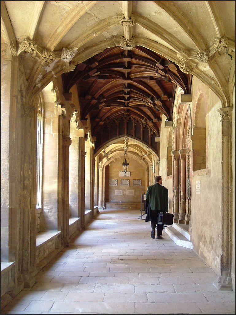 Christ Church College Cloister Christ Church Christ Church Oxford Oxford City