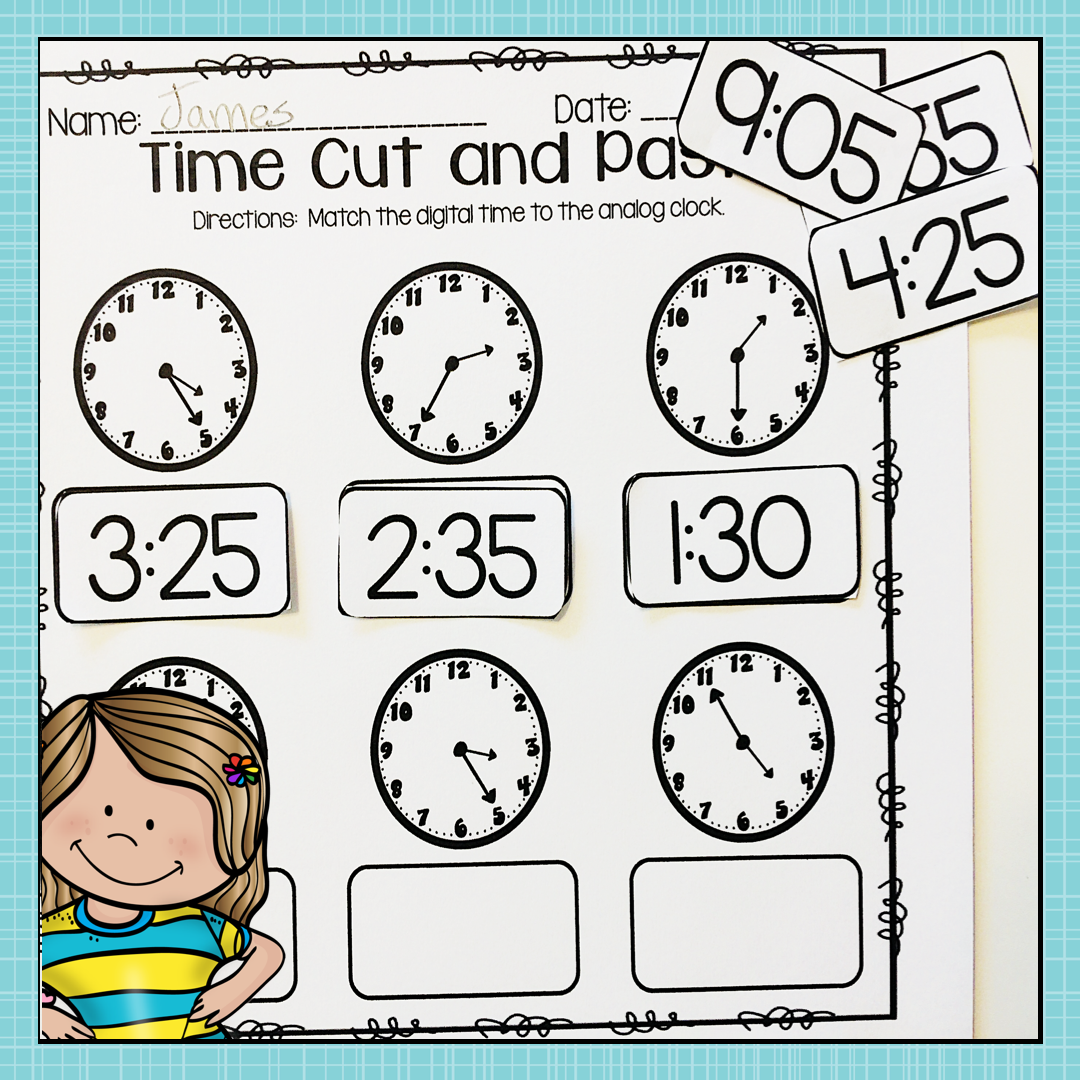 Telling Time To Five Minute Intervals Is A Skill That