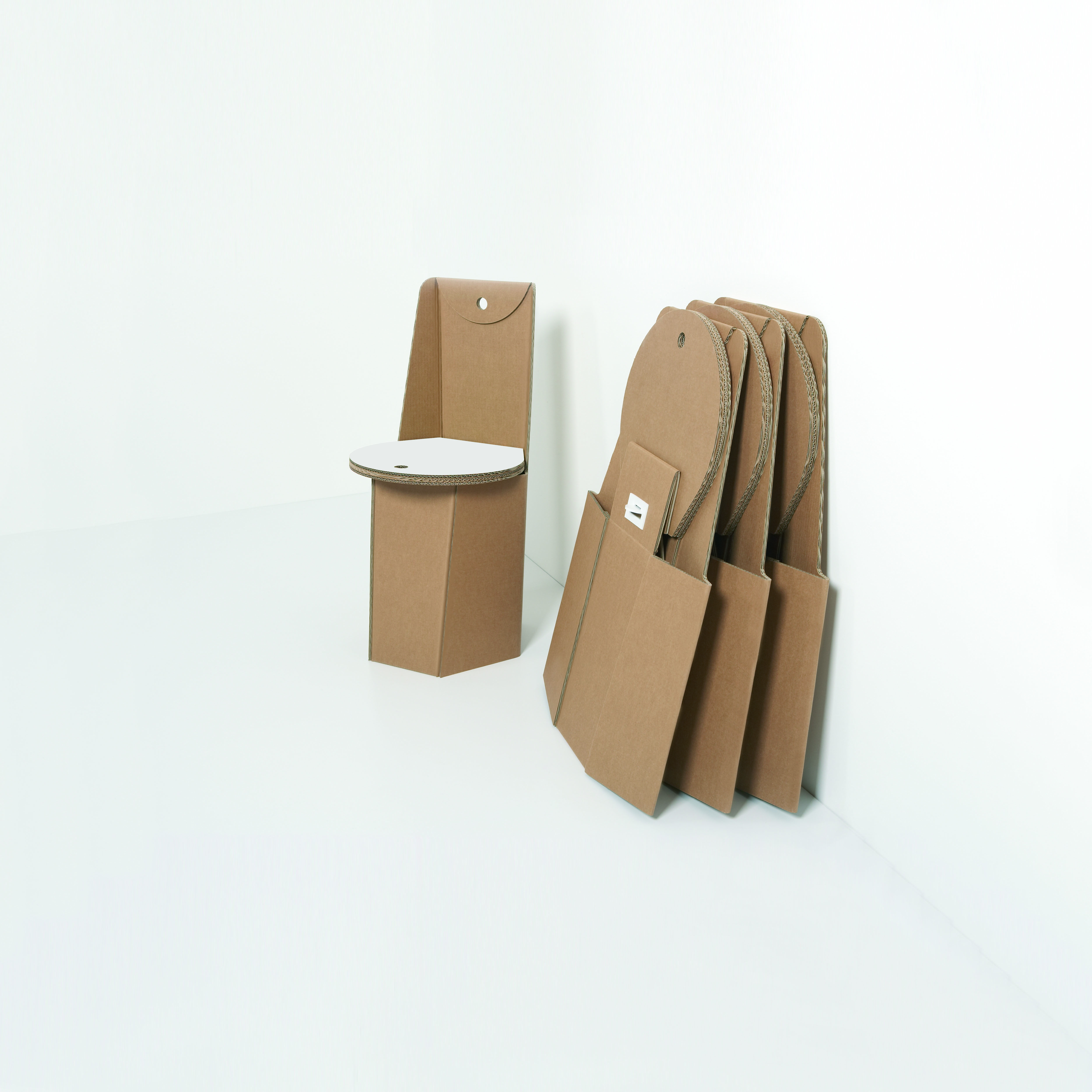 Cardboard chair from #Kubedesign collection - #cardboard ...