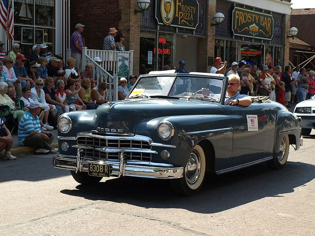 1949 Dodge Wayfarer, part of the Sunday Antique Car Parade. (This post if for you, dad xx)