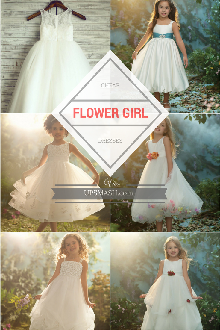 Buying The Perfect Yet Cheap Flower Girl Dresses Under 20 Cheap