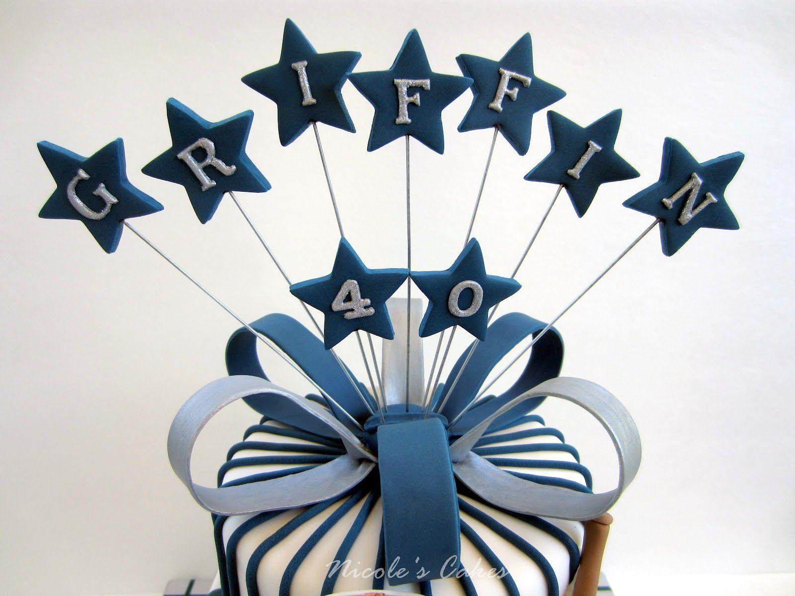 male 40th cake ideas - Google Search