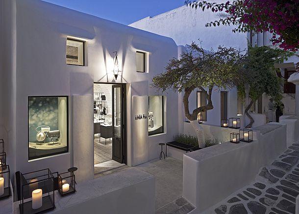 Linea Piu Store in Mykonos by Kois Architect. Grece inspiration!