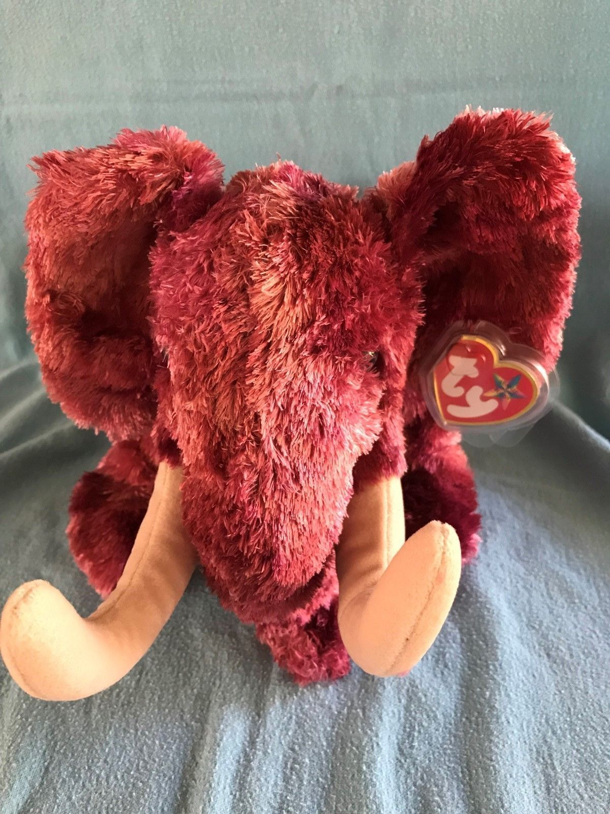 8c8eb53ef66 TY Beanie Buddy COLOSSO the Mammoth 9 inch MWMTs Stuffed Animal Toy 2003