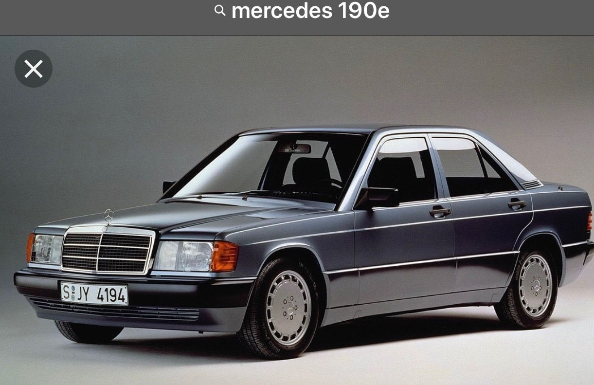 1985 Mercedes 190e 2 5 16v Vehicles And Places Mercedes Benz 190