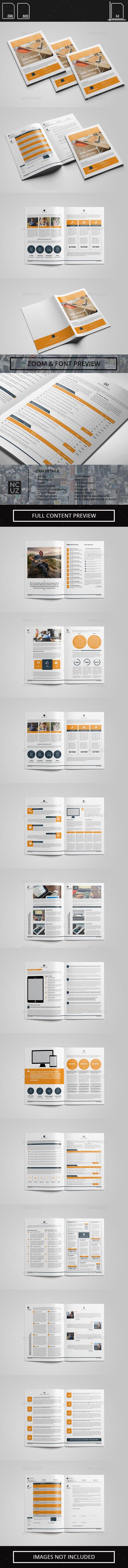 proposal web design and web development template design download httpgraphicriver