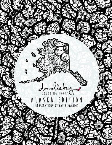 Doodlebug Coloring Books Alaska Edition