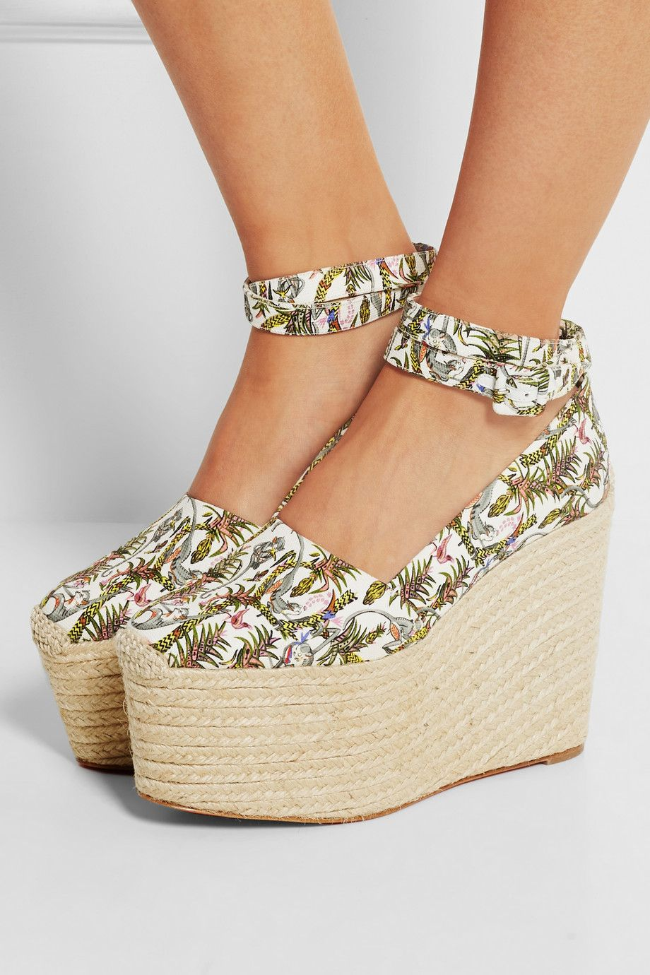 Christian Louboutin Wedges gris