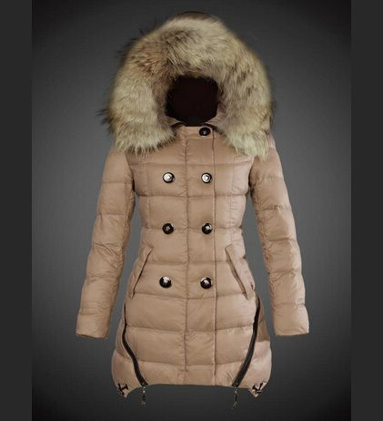 acheter moncler manteau hiver femme fourrure capuche beige pas chere moncler nouvelle. Black Bedroom Furniture Sets. Home Design Ideas