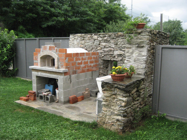 Costruire barbecue in muratura barbecue in muratura for Prezzi mattoni refrattari leroy merlin