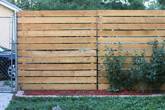 Genius The Easy Way To Add Privacy To A Chain Link Fence Chain