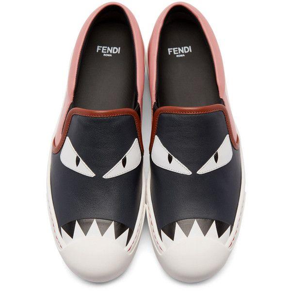 Funny shoes, Fendi shoes, Leather slip
