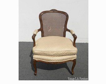 Best Vintage French Provincial Baby Blue Accent Chair W Down 640 x 480